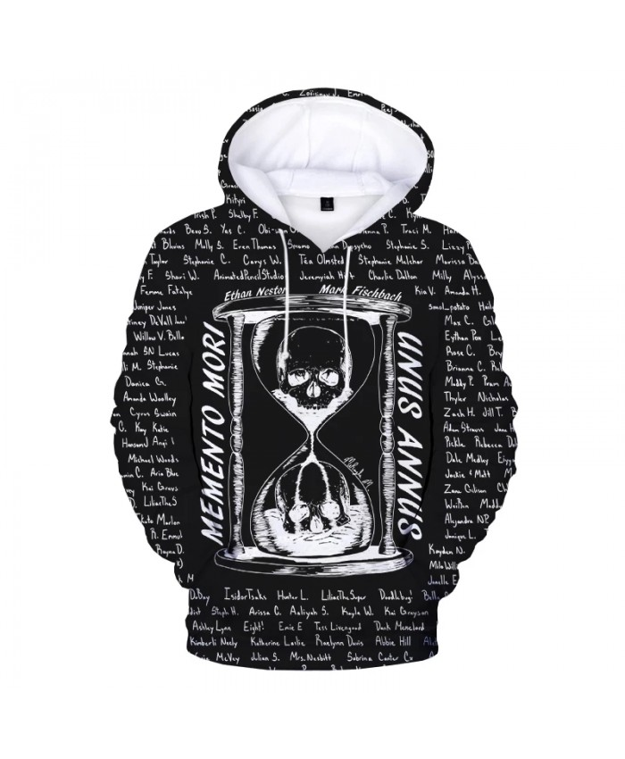 New Unus Annus Hoodies TV Series 3D Sweatshirts Men Women Fashion Casual Autumn Winter Pullover Boys Girls Unus Annus Hoodie