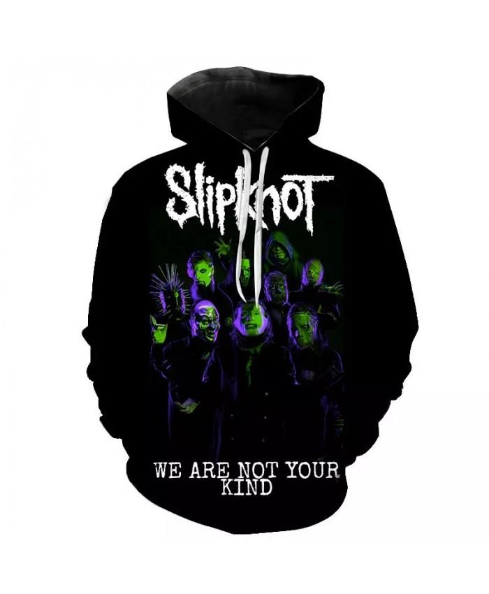 Slipknot Hoodies Men Women Children Hip Hop Band Sweatshirt Harajuku Streetwear Cool 3D Print Hoodie Casual Hoody Coat Pullover