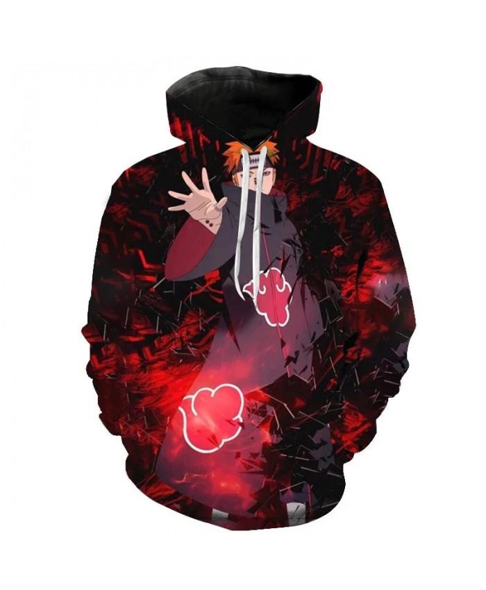 Spring And Autumn Anime Naruto Hoodie Fashion Men Women Children 3d Printing Streetwear Pullover Long Sleeve Casual Sweatshirt