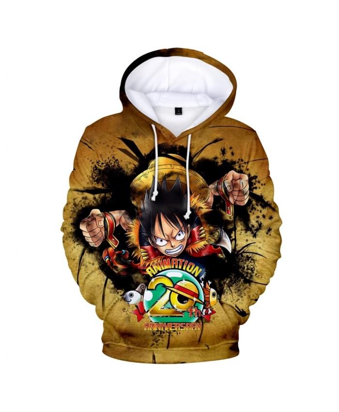 Cartoon Sweatshirts 3D One Piece Hoodies Men Women Harajuku Sweatshirt Streetwear Harajuku Hoodies Pullover High Quality Hoodie