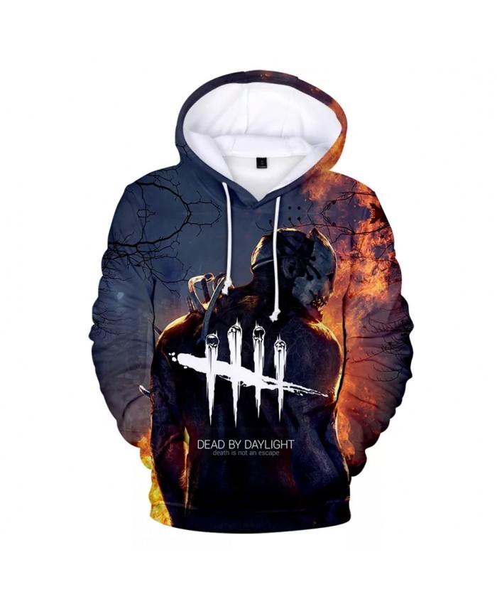 Dead By Daylight 3D Hoodies Men Women Long Sleeve Streetwear Hoodie And Sweatshirt Death Is Not An Escape Printed Jacket Clothes