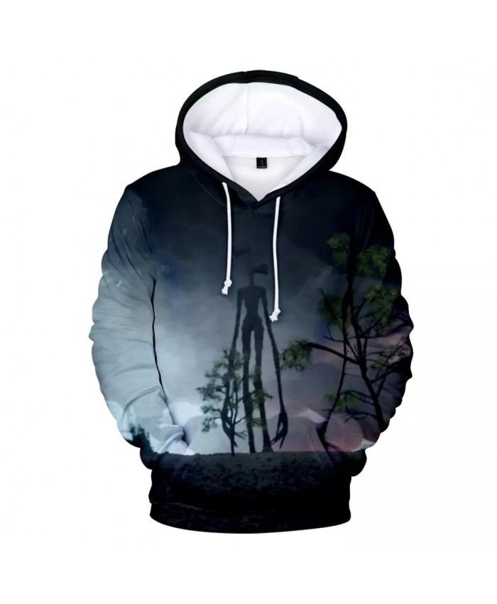 2021 Urban Legend Close Your Ears Or Face Your Fears Siren Head 3D Hooded Sweatshirt Men Women Casual Hoodies Clothes