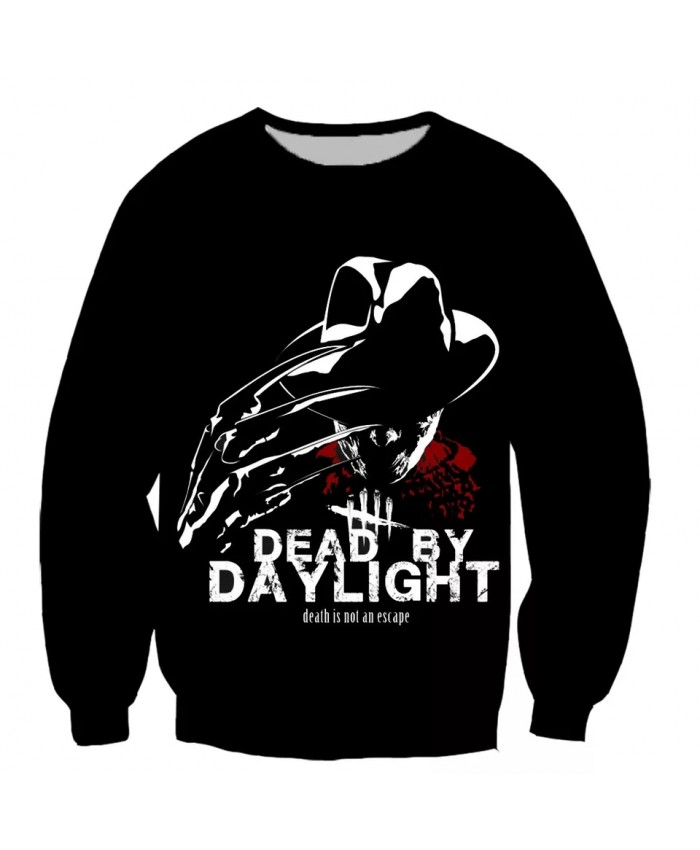 Dead by Daylight game 3D print men women fashion cool Long Sleeves sweatshirt harajuku style street styles tops
