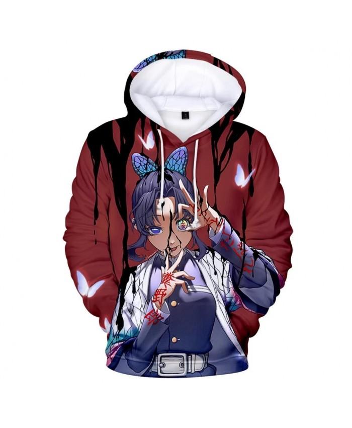 3D Hoodies Ghost Blade Hooded Men Women Print Comic 3D kids Hoodies Sweatshirts New children Demon Slayer boys girls pullovers