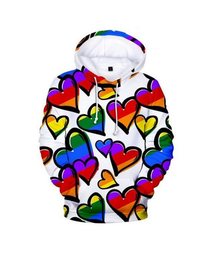 New Aikooku Love Hoodies Men women Pride Harajuku Fashion Men's Hoodies Lesbian Gay Sweatshirt Flag Clothes