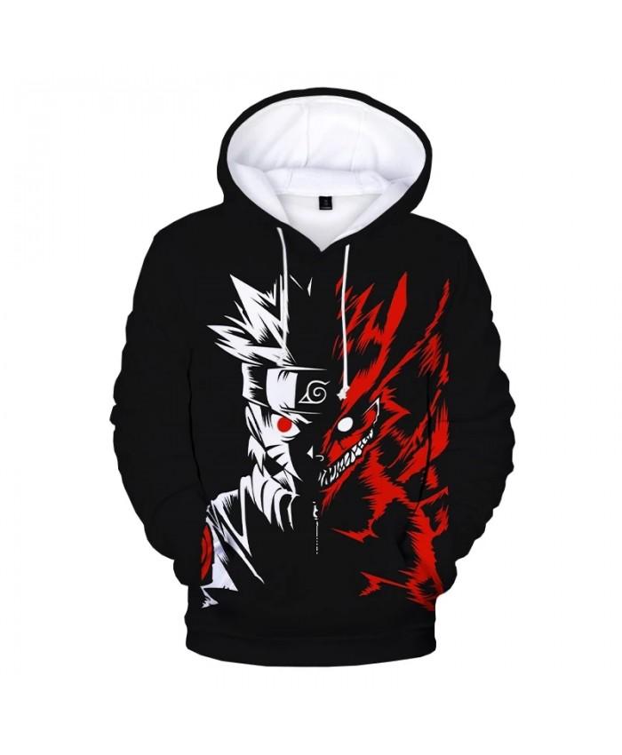 Naruto Hoodie Anime Cosplay Costume Sweatshirts Kakashi 3D Printed Pullover Men Women Fashion Casual Oversized Hoodies