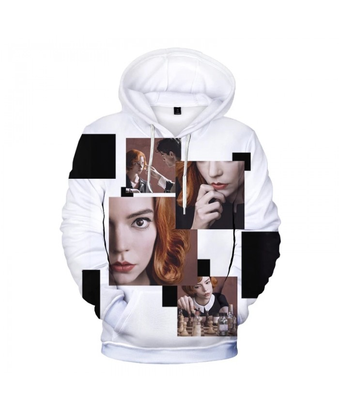 Hot TV Series The Queen's Gambit Graphic Harajuku Streetwear Sweatshirt Fashion Versatile Fine Women's Hoodies