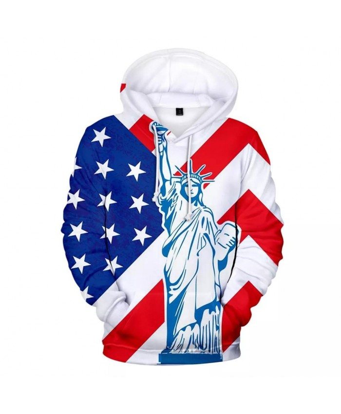 Hot USA National Flag Fashion Hip Hop Harajuku New Each Country National Flag Hoodies Men women 3D Print Clothes