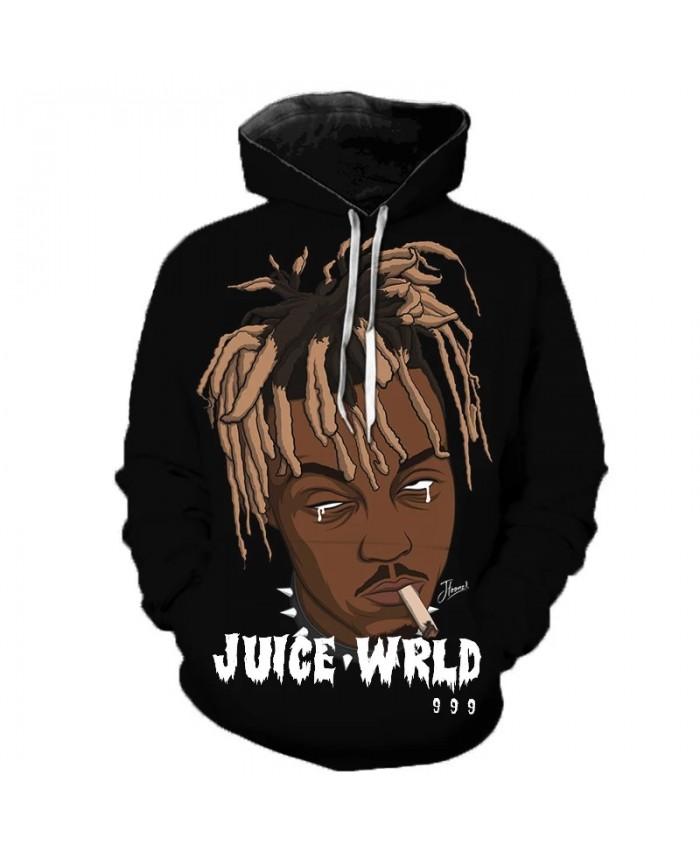 Rapper Juice Wrld 3D Printed Hoodie Sweatshirts Men Women Fashion Casual Pullover Hip Hop Singer Streetwear Oversized Hoodies