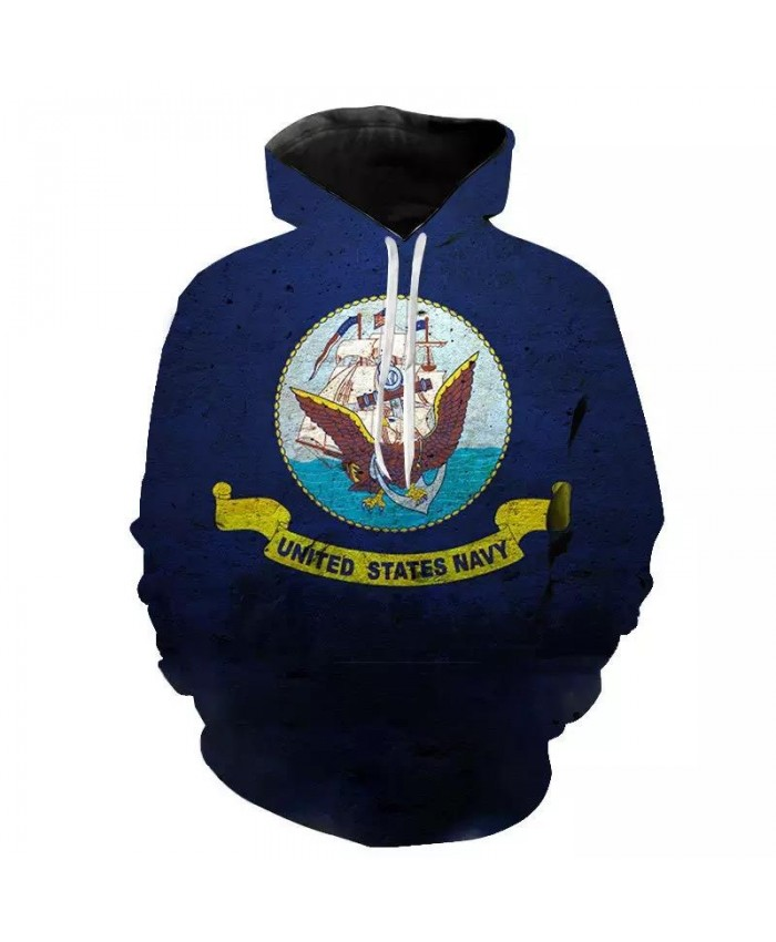 2021 New Fashion Hoodies Navy Seal Men Women Children 3D Printed Casual Sweatshirts Pullover Boy Girl Streetwear Hooded Tops Boy