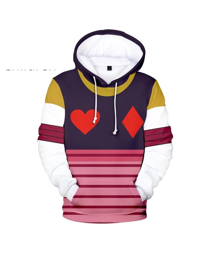 Popular 3D Comic Hisoka Hoodies Sweatshirts Men Women Hoodie Fashion Autumn Hooded Kids 3D Hisoka boys girls suitable pullovers