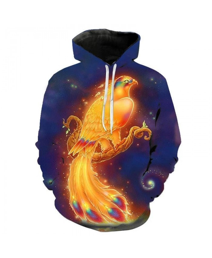 The Latest Flame Phoenix 3D Printed Hoodie Sweatshirt Cool Men Women Hoodies Children Fashion Boy Girl Kids Casual Pullover Coat