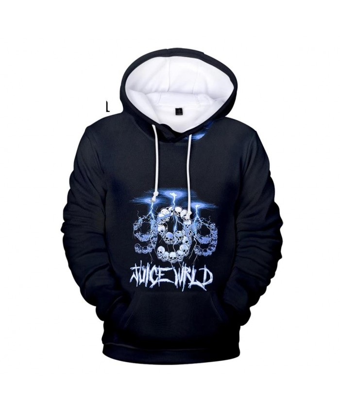 New 3D Juice WRLD Hoodies Men Women black Sweatshirts Autumn Hip Hop Kids pullovers suitable 3D Juice WRLD boys girls Outwear