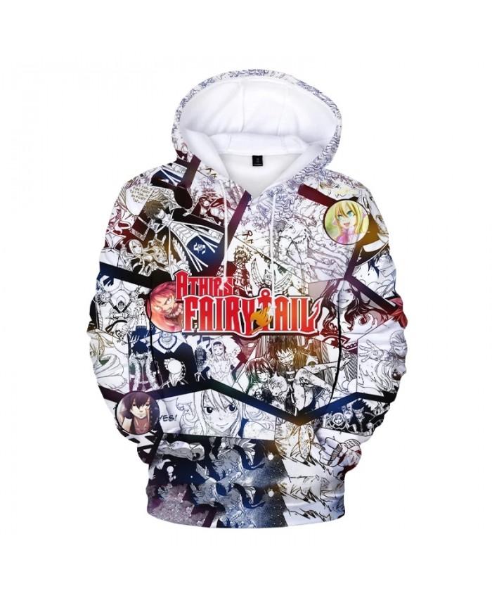 Fairy Tail 3D Print Hoodies Men Women Casual Hoodie Sweatshirts Boys Girls Oversized Cartoon Pullovers Autumn Winter Clothing