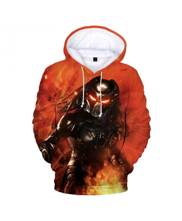 Horror Movie The Predator 3D Printed Hoodie Men Women Fashion Casual Hooded Sweatshirts Harajuku Streetwear Oversized Pullover