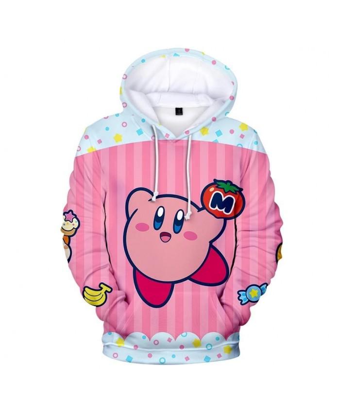 3D kirby Hoodies Men Women Sweatshirts Harajuku Kids Hoodie children pullovers Print 3D kirby Hoodies boys girls Autumn Clothing