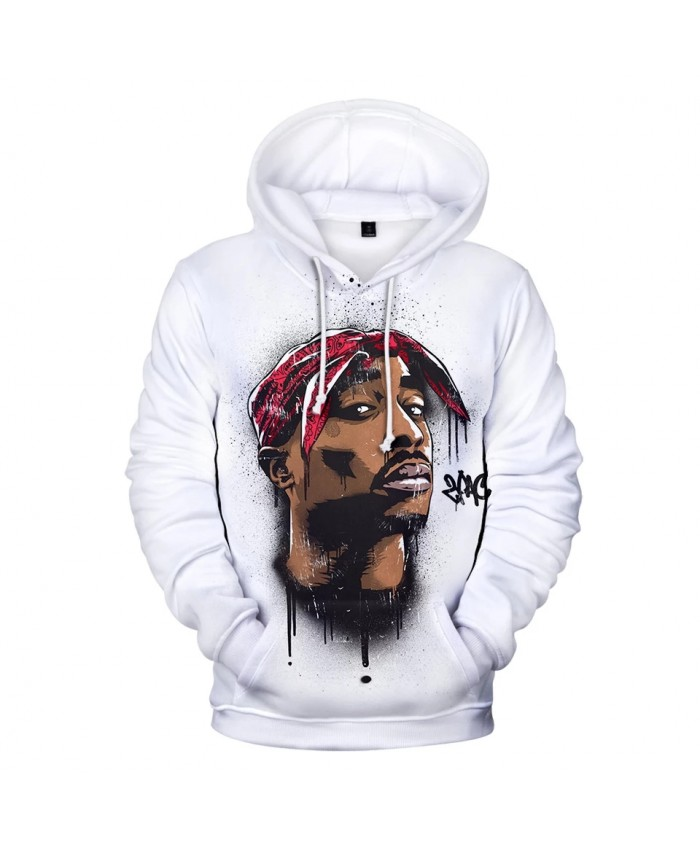 Gangsta 2Pac Hoodies Men women Hot Rap Harajuku Hip Hop 3D Print New Gangsta 2Pac Men's Hoodies and Sweatshirt