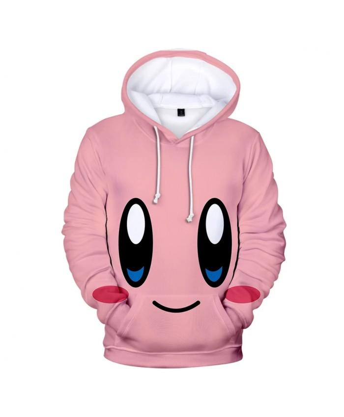 3D Hoodies Print kirby Hoodie Men Sweatshirt Women Harajuku pink Pullovers Casual Hot sale kirby 3D boys girls Hooded