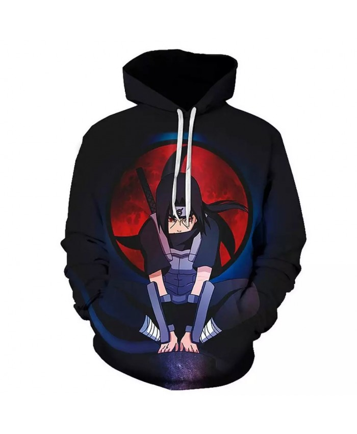 Sasuke Naruto Cosplay Clothes Akatsuki Hoodie Uchiha Itachi Anime Men Women Sweatshirt Thin Jacket Fashion 3D Print Hoody Coats