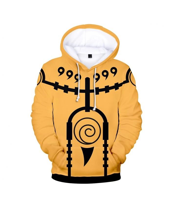 3D Printed Hoodies Naruto Sweatshirt Harajuku Men Women Tops Kids Hooded Hot Anime 3D Hoodie Naruto boys Autumn yellow pullovers