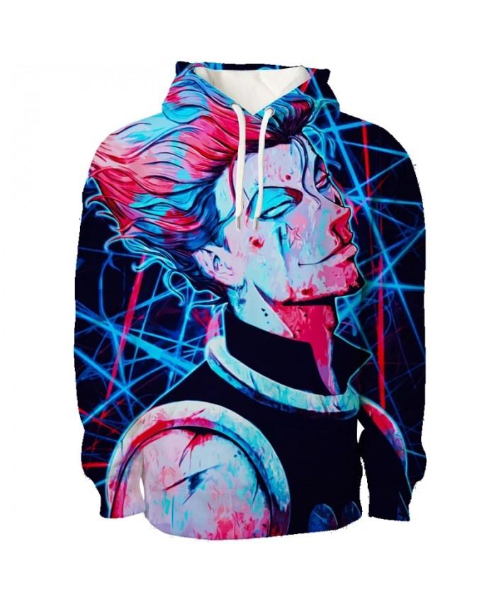 Anime Hunter X Hunter Hisoka Killua Hoodies Anime Hoodie 2021 Autumn Women men Pullovers Sweatshirt Streetwear 3D Sweatshirts