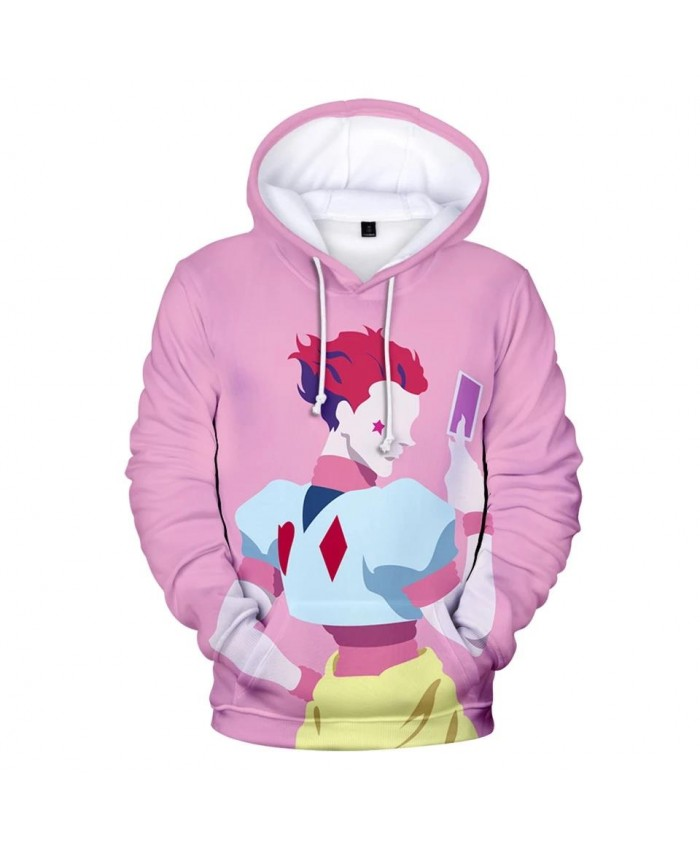 Suitable 3D printed Comic Hisoka Hoodies Sweatshirts Men Women Hoodie Fashion Autumn Hooded Kids 3D Hisoka boys girls pullovers