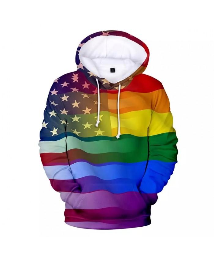 New Fashion 2021 Love Hoodies Men women Harajuku Hip Hop 3D Print Flag Men's Hoodies Sweatshirt Lesbian Gay Clothes