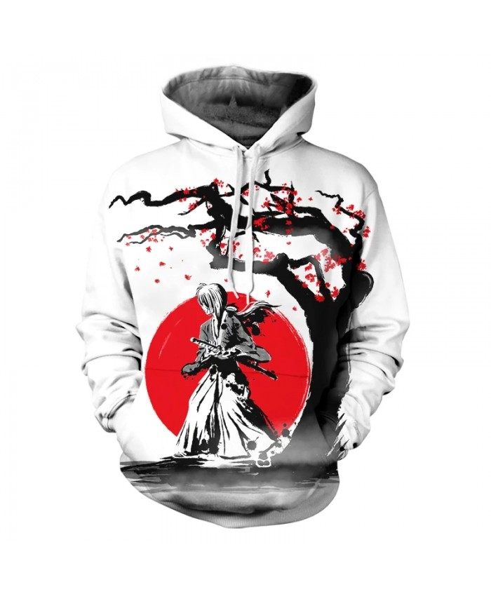 2021 New Men's And Women's Hoodies 3d Printing Chinese Style Cartoon Image Street Harajuku Hooded Sweatshirt Coat