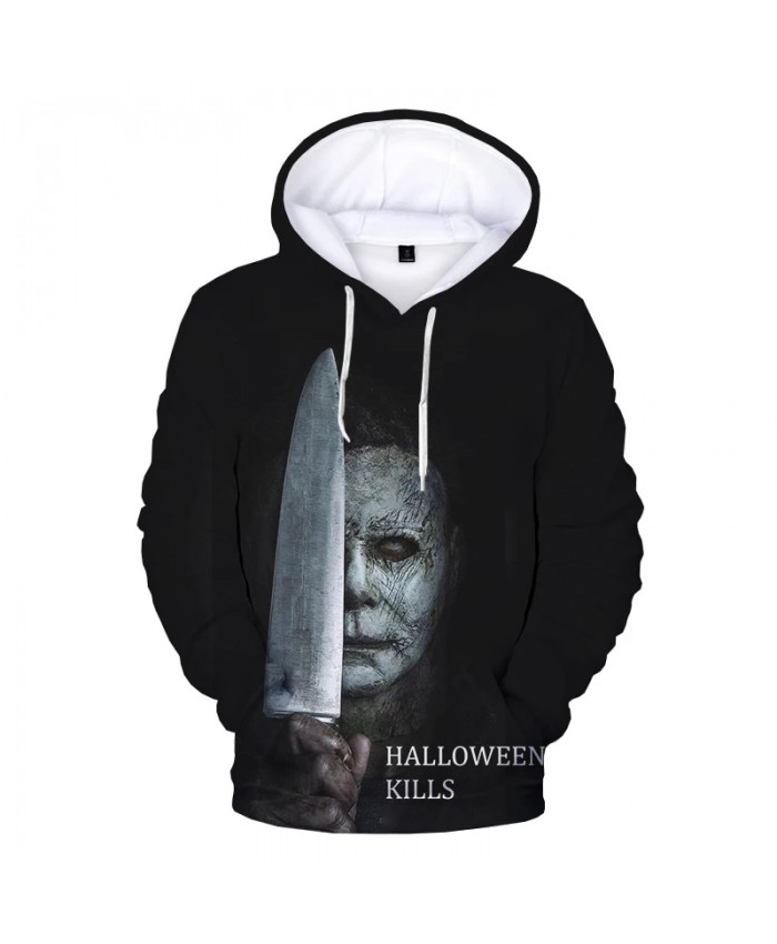 2021 Halloween 3D Print Hoodie Sweatshirts Michael Myers Harajuku Streetwear Hoodies Men Women Autumn Casual Oversized Pullover