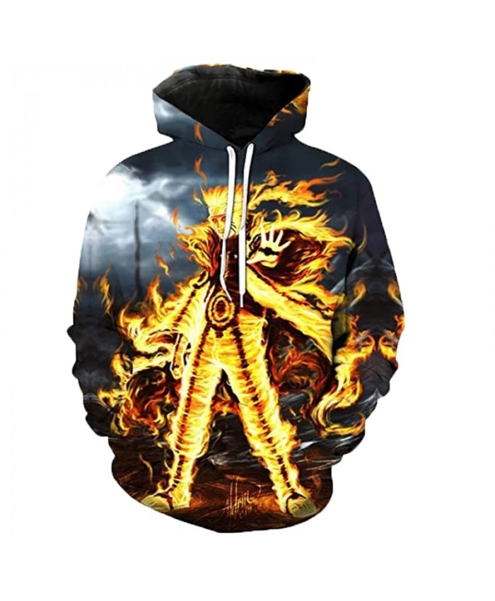 2021 New Arrival Naruto Hoodies Men Women Fashion Casual Streetwear Pullover Sasuke Kakashi 3D Print Anime Hoodie Sweatshirts