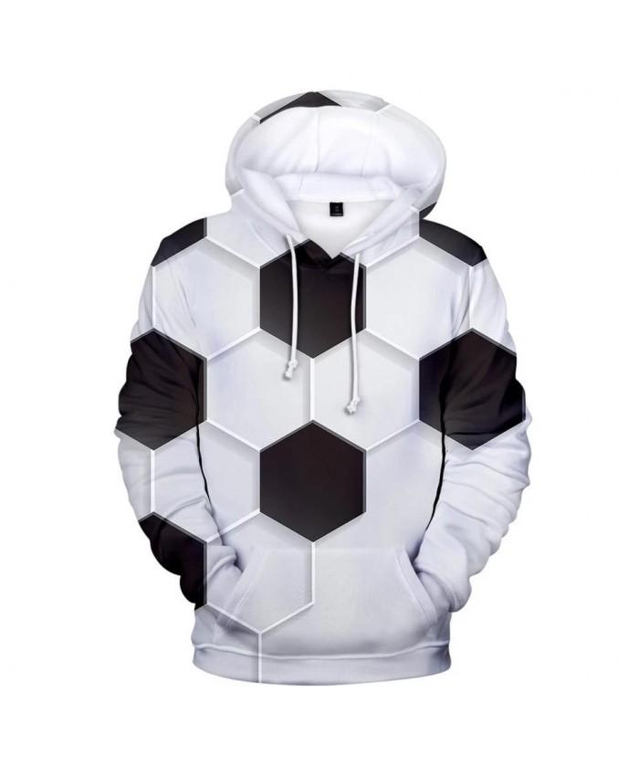 Popular3D football soccer Hoodies Men Women Sweatshirts Fashion Autumn Kids Hoodie Suitable 3D boys girls white black pullovers