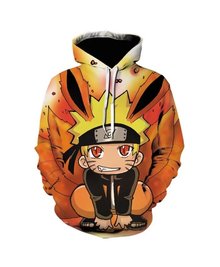 Anime Naruto Hoodie Hokage Uzumaki Japanese Streetwear Uchiha Sasuke Hatake Kakashi Tops Men 3D print anime Hoodies Sweatshirt