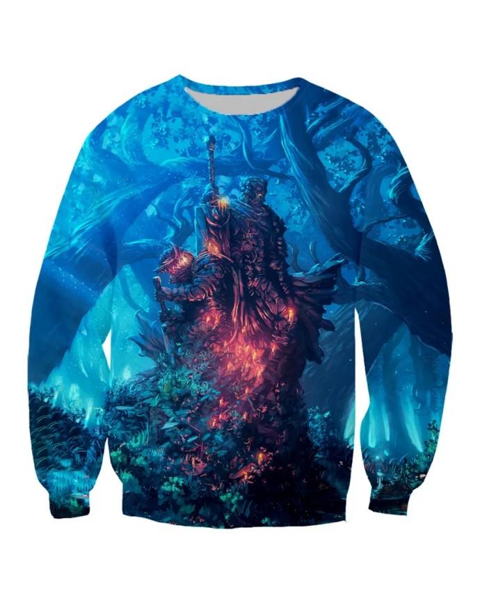 Berserker Guts Griffith Fashion Long Sleeves 3D Print Hoodies Sweatshirts Jacket Men women tops