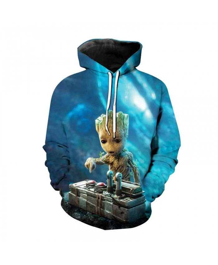 Movie Guardians Of The Galaxy Hoodie Boys And Girls 3d Printed Sweatshirt Hip Hop Pullover Fashion Casual Caot