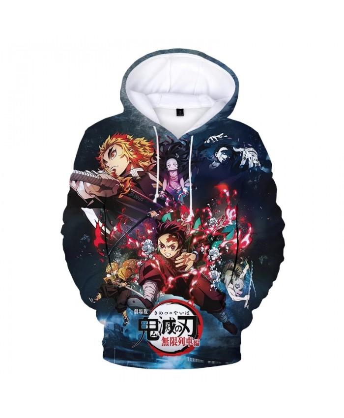 2021 Demon Slayer 3D Print Hoodie Sweatshirts Men Women Fashion Casual Anime Pullover Unisex Harajuku Streetwear Cool Hoodies