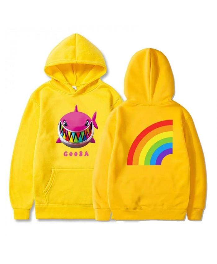 6ix9ine Gooba Rainbow 3D Printed Hooded Sweatshirts Rapper Fashion Casual Hip Hop Pullover Men Women Harajuku Streetwear Hoodie