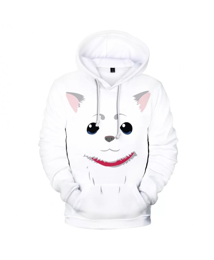 Japan Anime Gintama Kids Hoodies Sweatshirts 3D Printed Oversized Women Sweatshirt Boys Girls Pullover Loose Jacket Tracksuit