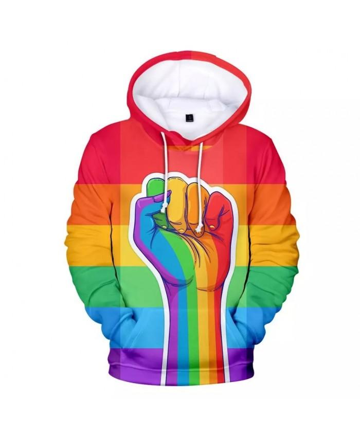 Hot Love Hoodies Men women Fashion pride Hip Hop New Lesbian Gay Men's Hoodies Sweatshirt Flag Plus Size
