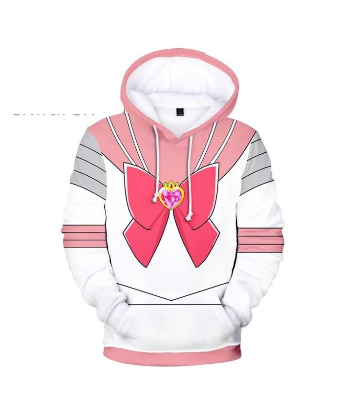 New Autumn 3D Sailor Moon Character Costume Hoodies Men Women Hoodie Children Sweatshirt 3D Sailor Moon boys girls pink pullover