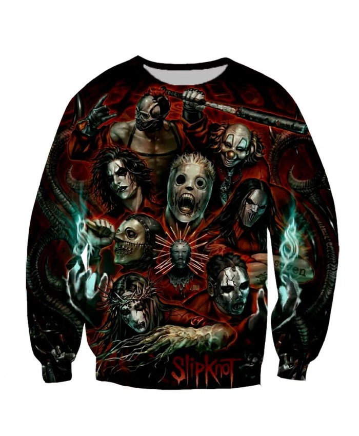Slipknot Fashion Long Sleeves 3D Print Hoodies Sweatshirts Jacket Men women