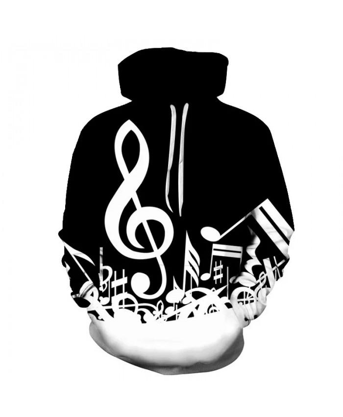Hot Sale Music Note Hoodies Men Women Plus Size 3D Sweatshirt Guitar Hoodie Sportwear Hooded Sudaderas Hombre Tracksuit