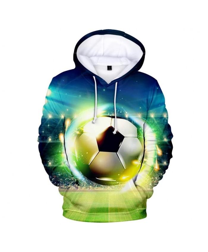 3D football soccer Hoodies Men Women Sweatshirts New Fashion Autumn Kids Hoodie Suitable 3D boys girls Hooded casual pullovers