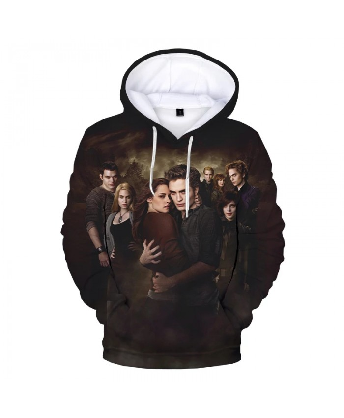 2021 New The Twilight Saga 3D Print Hoodie Sweatshirts Men Women Fashion Casual Cool Pullover Harajuku Streetwear Hoodies