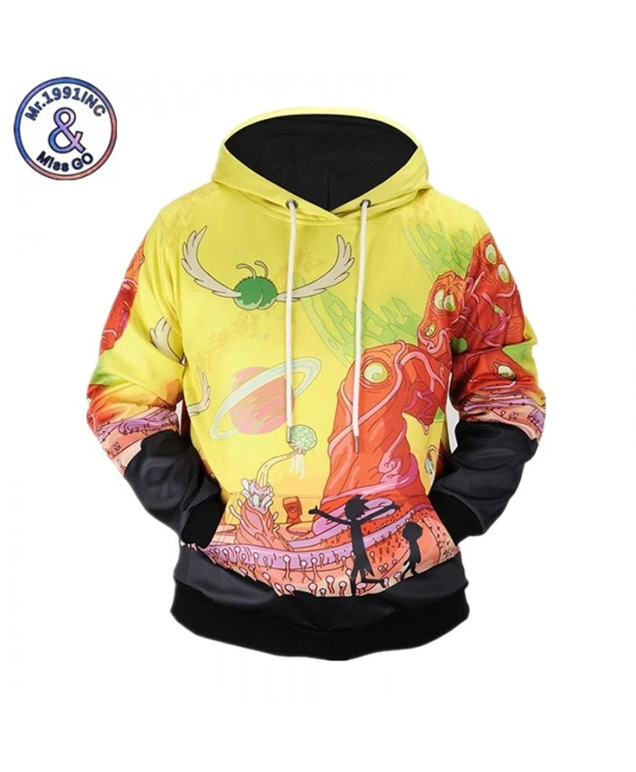 2021 Spring New Sweatshirts Men Women Print Cartoon Hoodies Harajuku Sweatshirts Male Tops