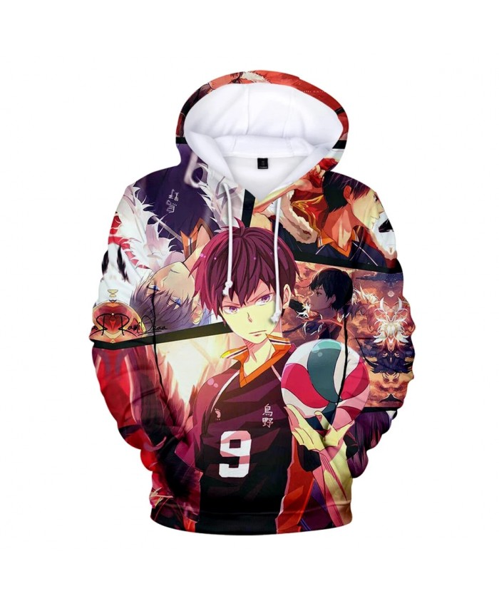 Haikyuu 3D Hoodies Men women Fashion Hip Hop Harajuku Streetwear Haikyuu Men's Hoodies Sweatshirt Casual Clothes