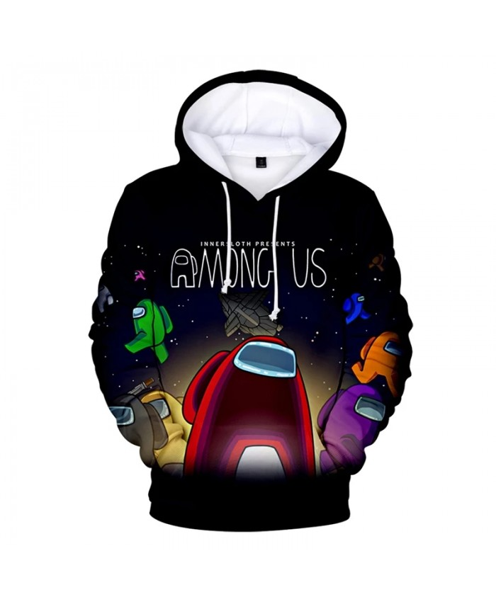 2021 Among Us 3D Print Hoodie Sweatshirts Men Women Fashion Casual Cool Pullover Video Games Harajuku Streetwear Hoodies