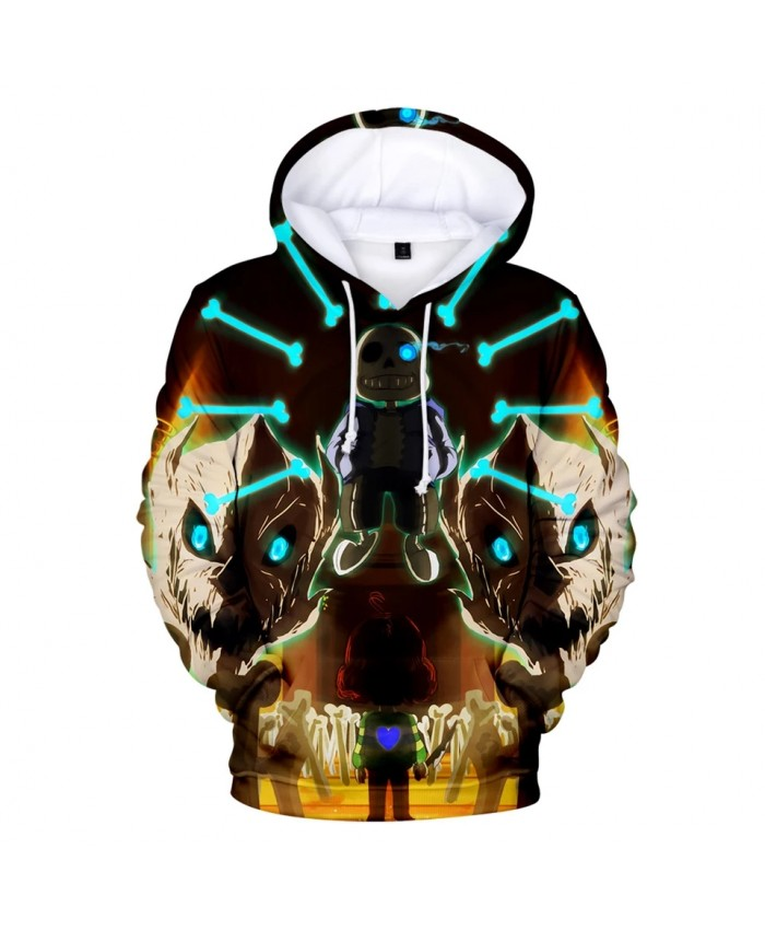 2021 New 3D Print Undertale Hoodies Men women Fashion Harajuku High Quality Undertale Men's Hoodies And Sweatshirt Casual Clothe