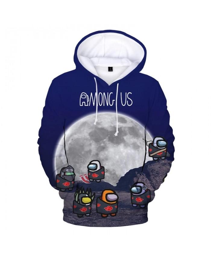 New Among Us Naruto 3D Print Hoodie Sweatshirts Kids Harajuku Streetwear Anime Hoodies Men Women Fashion Casual Cartoon Pullover