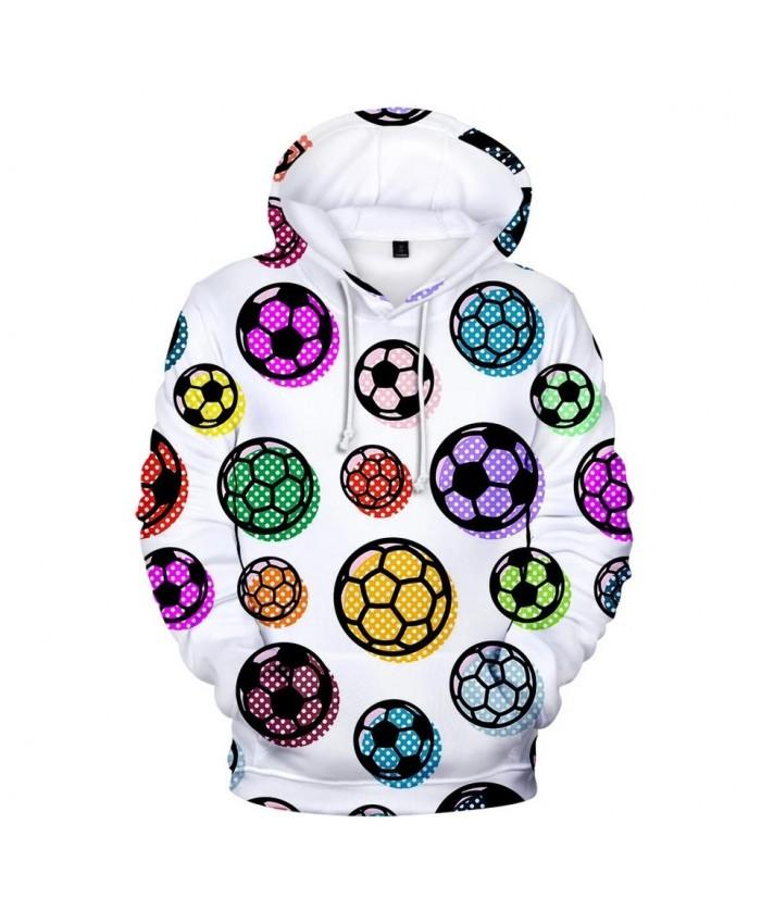 Full printed Color 3D football soccer Hoodies Men Women Sweatshirts Fashion Autumn Kids Hoodie Suitable 3D boys girls pullovers