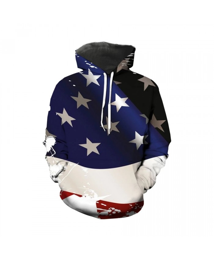Hot selling 3D print Independence Day patriot crew neck Hoodie summer Mens   Womens high quality holiday souvenir s-6xl